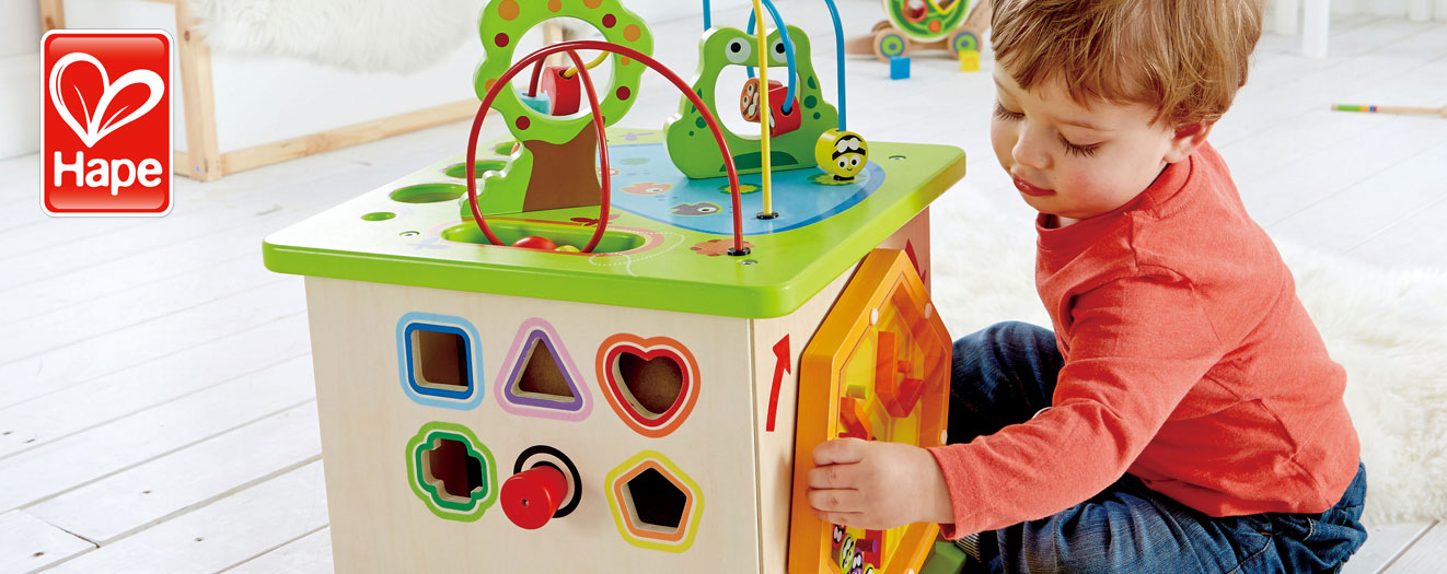 Hape Country Critter Cube