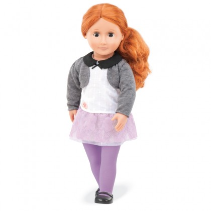 Our Generation BD31047Z Doll With Lace & Tulle Skirt