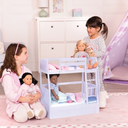 "Our Generation 37881- Bunk Bed for 18"" Doll suitable for Kids age 3+"