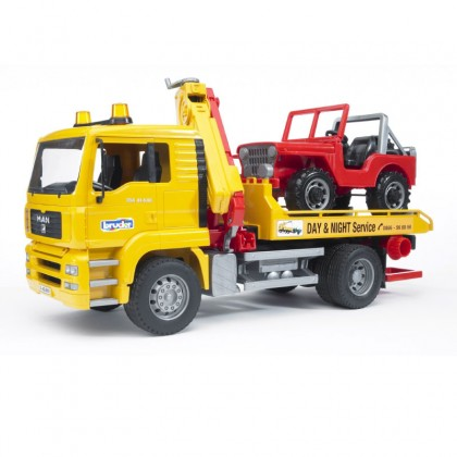 Bruder 02750 MAN TGA Breakdown-truck Cross Country Vehicle