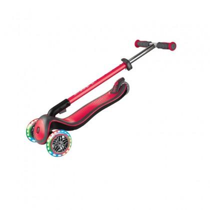 Globber Elite Deluxe Light Scooter for 3+ -New Red