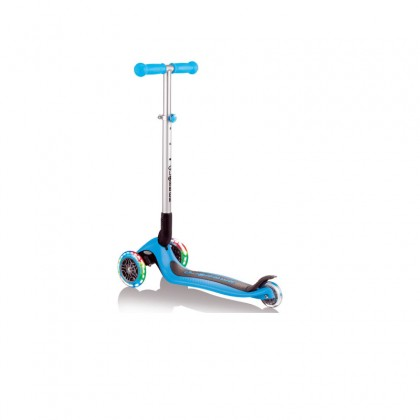 Globber Primo Foldable Light Scooter for 3+ Sky Blue/Red/Deep Pink