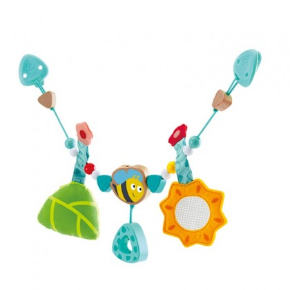 Hape 0021 Bumble Bee Pram Chain for baby age 6 month +