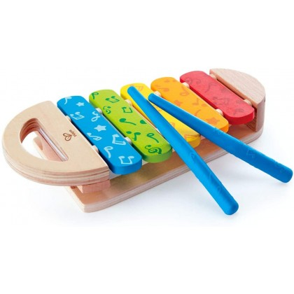 Hape E0606 Rainbow Xylophone Musical Toy for Toddler