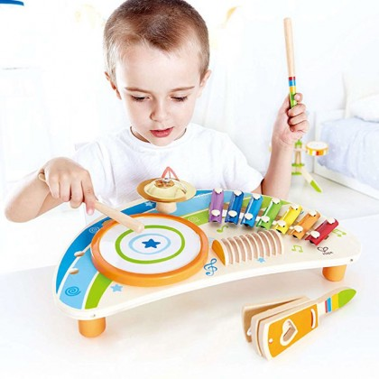 Hape E0612 Mighty Mini Band Musical Toy for Kids age 3+
