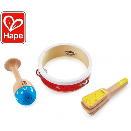 Hape E0615 Junior Percussion Musical Toy Set for Toddler age 1+