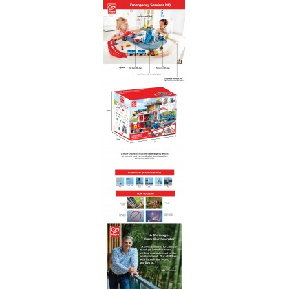 Hape 3736 Emergency Services HQ
