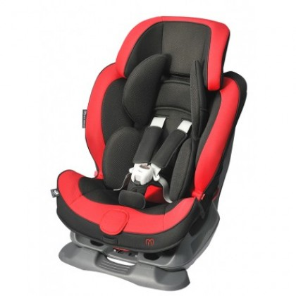 Ailebebe ALC461E Swing Moon High Back Booster Seat Graphite Red