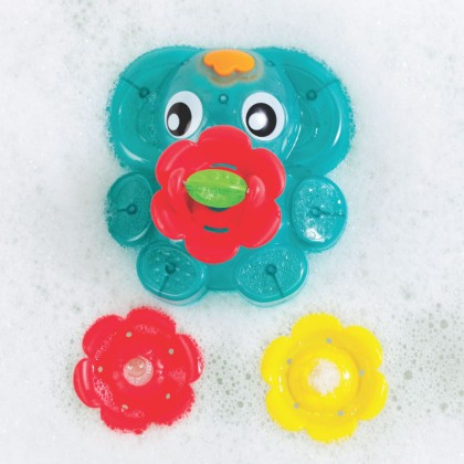 Playgro 4086399 Light Up Squirty Bath Fountain for 12m+