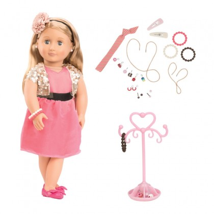 Our Generation 31080- Jewelry Doll Audra for 3y+