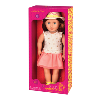 Our Generation 31138 Doll With Hat & Dress- Clementine for 3y+