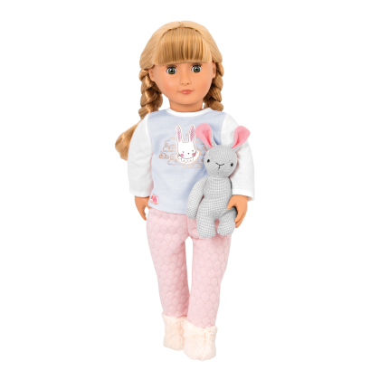 Our Generation 31147 Doll With Pijama & Bunny - Jovie for 3y+