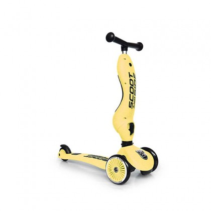 Scoot And Ride SR96354 Highwaykick1 Scooter For Toddler 1-5 Years - Lemon