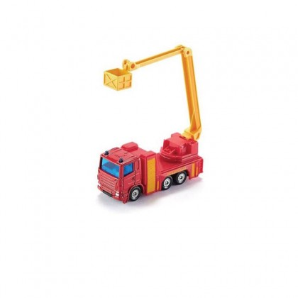 SIKU S1080 FIREFIGHTER ELEVATING RESCUE PLATFORM COLLECTIBLE EMERGENCY DIE CAST VEHICLE FOR 3Y+