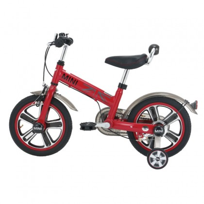 """Rastar 1402 Mini Copper Ride on Bicycle 14"""" suitable for 4 up to 6years old~Red"""