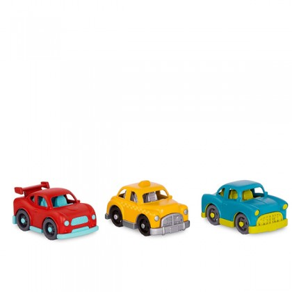 Wonder Wheels 1037 Toy Cars Set of 6 Mini Vehicles for Toddlers, Kids – 1 Year +