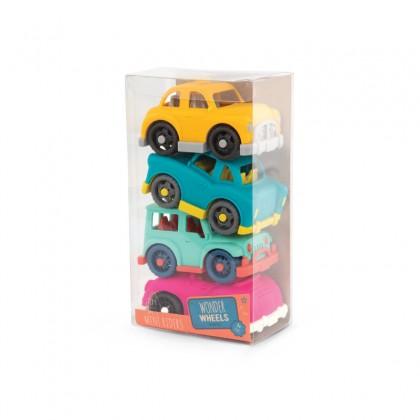 Wonder Wheels 1045 Mini Vehicles Set -4 cars