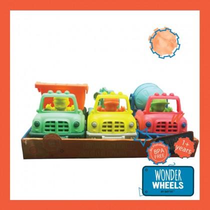 Wonder Wheels 1048 3-Little Truck Set