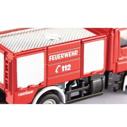Siku 1068 Unimog Fire Engine Die Cast in Blister Pack