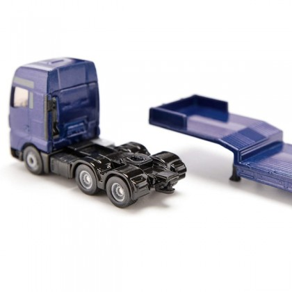 Siku 1790 MAN Truck with Low Loader and JCB Wheel Loader 1:87 Construction Die Cast Vehicles for 4y+