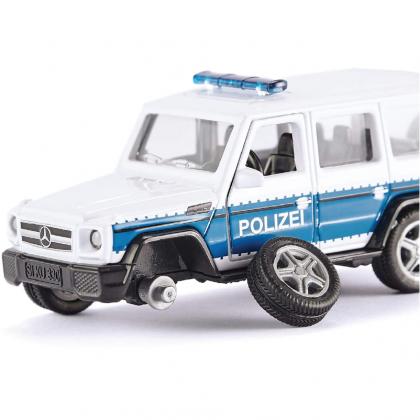 Siku 2308 Super Mercedes-AMG G65 Police Car with Trailer Hitch Scale 1:50 Die Cast