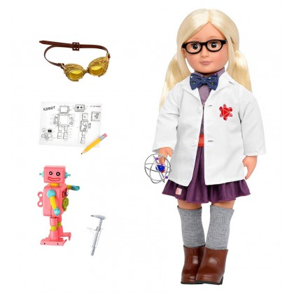 Our Generation BD31120Z Scientist Doll - Amelia