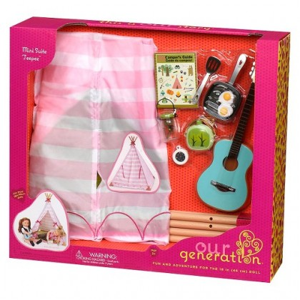 Our Generation BD37209Z Mini Teepee Set