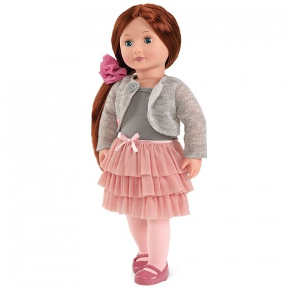 Our Generation BD31008Z Doll with Frilly Skirt - Ayla