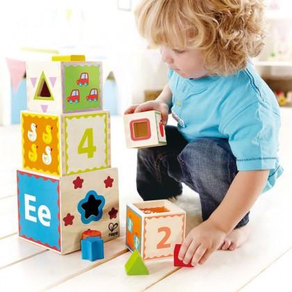 Hape E0413 Pyramid of Play
