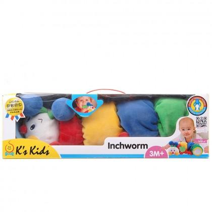 K's Kids KA10494 Inchworm With Teether