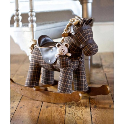 Little Bird Told Me LB3018 Rufus & Ted Rocking Horse