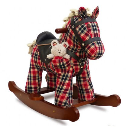 Little Bird Told Me LB3070 Winston & Red Rocking Horse