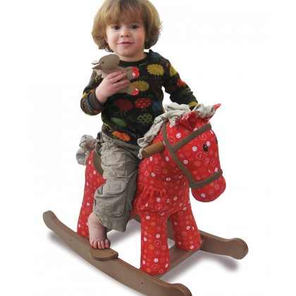 Little Bird Told Me LB3030 Doodle Crumb Rocking Horse