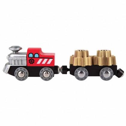Hape E3751 Cogwheel Train