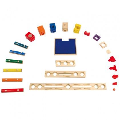 Hape E6012 Music Motion Race Maze Construction Building Set