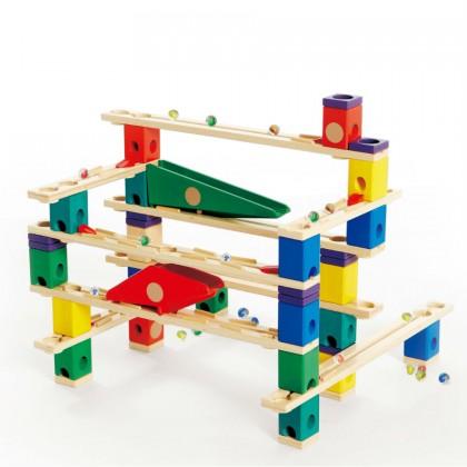 Hape E6006 Autobahn Race Maze Construction Building Set