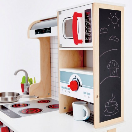 Hape E3145 All In 1 Kitchen Role Play Toy for Kids age 3+
