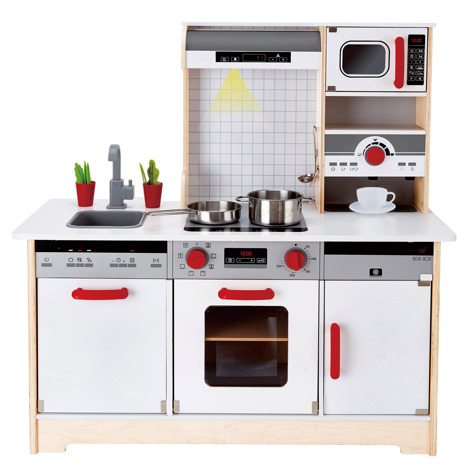 Hape E3145 All In 1 Kitchen Role Play Toy For Kids Age 3