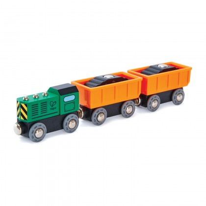 Hape E3718 Diesel Freight Train