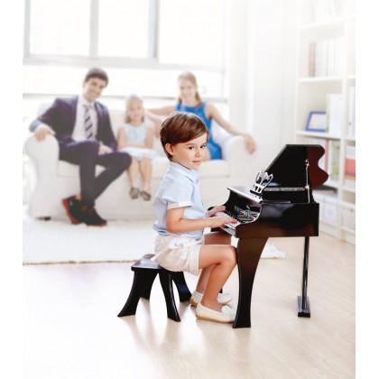 Hape E0320 Happy Grand Black Piano
