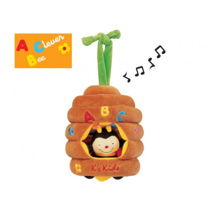 K's Kids KA10323 Musical Pull Bee Hive Pul Toy for newborn