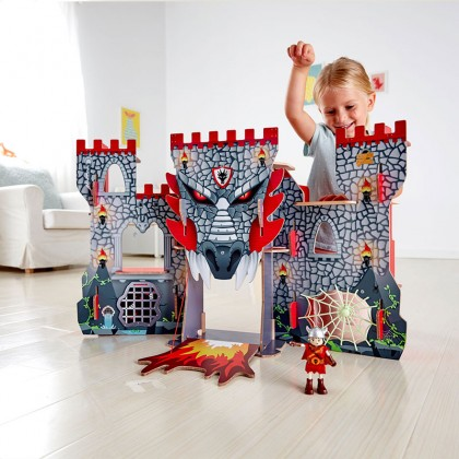 Hape E3025 Viking Castle Role Play Toy
