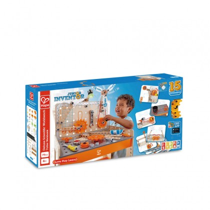 Hape E3027 STEM Toy Deluxe Scientific Work Bench