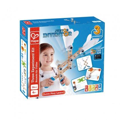 Hape E3030 Three Experiment Kit