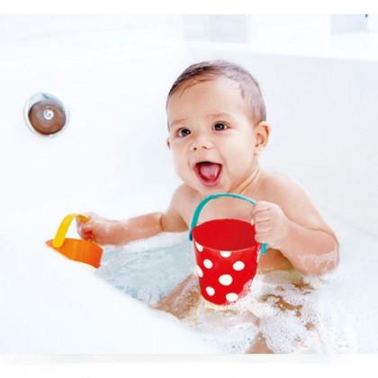 Hape E0205 Happy Buckets Set Bath Toy