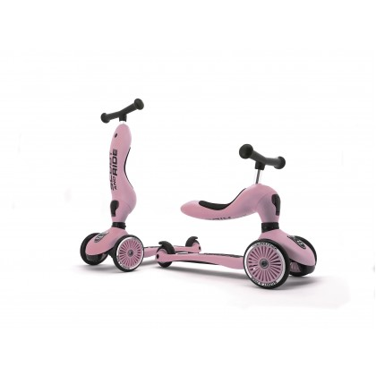 Scoot N Ride SR96270 Highwaykick 1 for toddler 1-5 years - Rose