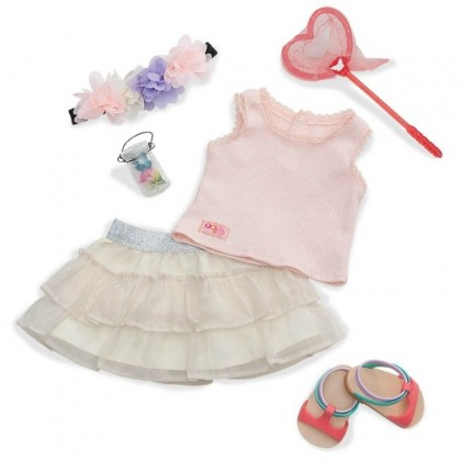 "Our Generation BD30198Z Butterfly Watcher Outfit for 18"" Doll"