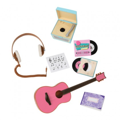 Our Generation  BD67037Z Retro Music Accessories Set