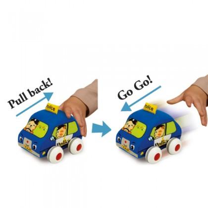 K's Kids KA10459 Pull Back Auto - Pack of Four