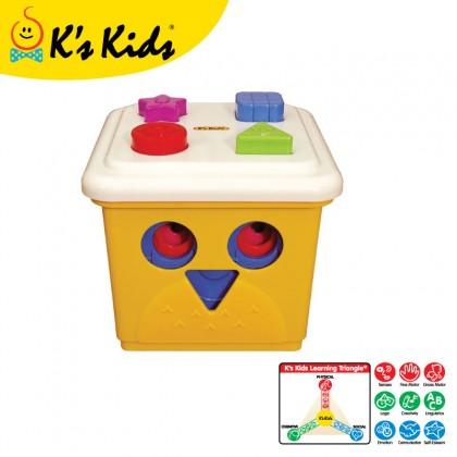 K's Kids KA10498 Owl! The Stacking Bucket Family